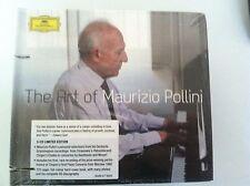 The Art of Maurizio Pollini CD 3 Discs, DG Deutsche Grammophon READ DESCRIPTION