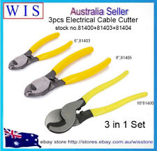 """6"""" 8"""" 10"""" Electrical Cable Cutter Wire Cutting Plier Electrician NBN Tool,3 in 1"""