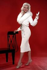 New 5x7 Photo: Film and Television Blonde Bombshell Jayne Mansfield