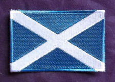 SCOTLAND FLAG PATCH SCOTTISH FLAG EDINBURGH DIY
