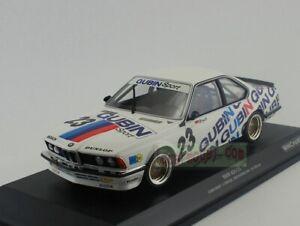 1/18 MINICHAMPS BMW 635 CSI #23 GUBIN DPM WINNER 1984 Ltd 1002 pcs Diecast