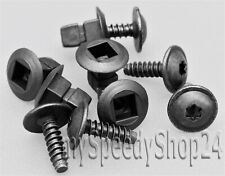 20x Torx TX25 Schrauben Spreizmutter Radhausschale Radkasten Clips für AUDI VW