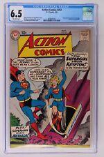 Action Comics #252 - DC 1959 CGC 6.5 1st App & Origin Supergirl & Metallo!