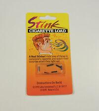1 PACK OF CIGARETTE STINK BOMB LOADS SMOKING GAG GIFT PRANK JOKE (6 PER PACK)