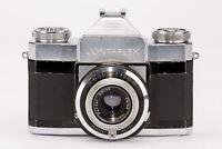 Zeiss Ikon Contaflex Alpha Spiegelreflexkamera - Pantar 2.8 45mm Prontor Reflex