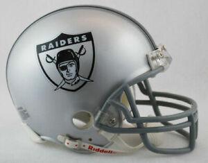 Oakland Raiders 1963 Throwback VSR4 Riddell Mini Helmet New in box