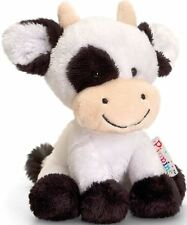 Keel Toys camuesas Vaca - 14Cm Suave Juguete Peluche Animal De Granja Bebé/Niño/niños BNWT