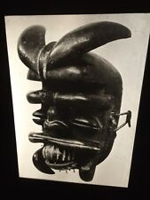 Ngere Dance Mask: Ivory Coast African Tribal Art 35mm Slide