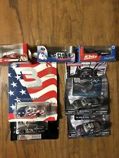 Lot of 6 Nascar 1:64 And 1 1/87 Diecast Dale Earnhardt Sr Jr And Jimmie Johnson