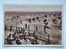 CERVIA spiaggia  vecchia cartolina