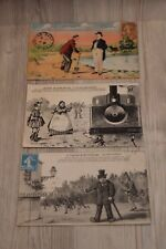 Lot de 3 cartes postales - Legende de St Saulge 13