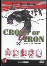 CROSS OF IRON GENUINE R2 DVD JAMES COBURN JAMES MASON MAXIMILIAN SCHELL VGC