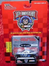 1998 NASCAR 50th Anniv. Racing Champions Ted Musgrave 1:64 Chrome Chase Car