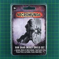 Van Saar Energy Shield Set Forge World Necromunda 11856