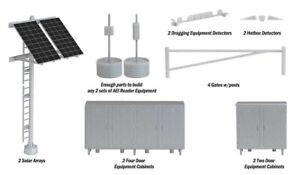 Modern Trackside Detail Set HO Kit - Walthers Cornerstone #949-4139 vmf121