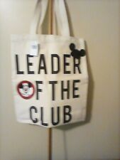 Mickey mouse canvas tote bag
