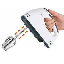 Handheld Electric Whisk 7 Speed Hand Mixer Kitchen Egg Beater Cream Cake Blender