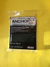 """NEW Anchor FS-5H-9 Hardened Glass Filter Plate Shade 9, 4-1/2""""x 5-1/4"""" Free Ship"""