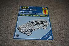 1984-1997 Jeep Cherokee Wagoneer Comanche Haynes repair manual