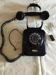 Altes Bakelit Wandtelefon aus den 50er Jahren