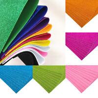 10Pcs DIY A4 Sheet EVA Foam Paper Glitter Art Crafts Kids DIY Material Gifts