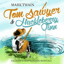 Livre audio CD Tom Sawyer et Huckleberry Finn von Mark Twain mise à jour Version