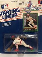1989 Starting lineup Barry Larkin Baseball figure Card Cincinnati Reds toy MLB