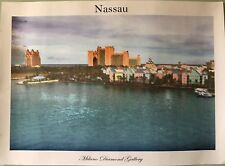 Nassau Bahamas - Unframed Print Picture - Atlantis Hotel -Milano Diamond Gallery