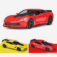 2017 Chevrolet Corvette Z06 1:24 Scale Model Car Diecast Vehicle Collection Gift