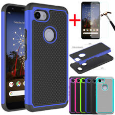 For Google Pixel 3A/3A XL Shockproof Rugged Hybrid Armor Rubber Hard Case Cover