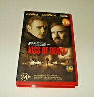 Kiss of death VHS PAL AUSTRALIAN RELEASE Nicolas Cage
