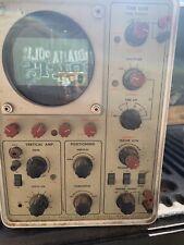 Heathkit   Tube Oscilloscope  Model 10-14   Parts Or Repair