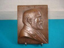 Plaquette Médaille Ancienne Docteur FLORAND Médecin Des Hôpitaux - Bronze Medal