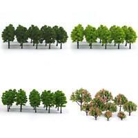 70cps/pack Model Trees Train Railroad Railway Scenery Layout HO Z TT Scale