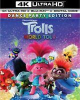 Trolls World Tour (4K Ultra HD + Blu-ray, 2020, 2-Disc Set) Free Shipping