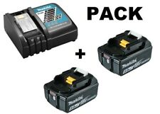 Makita cargador Dc18rc incl. 1x pila Bl1850b-original-neu