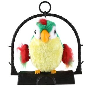 Talking Parrot Imitates And Repeats What You Say Kids Gift Funny Toy N3M7