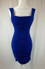Cache Elegant Dress Sleeveless Size 0 Blue NWT $178