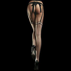 Fiore Madame 20 Stockings | Sheer Back Seam Thigh High