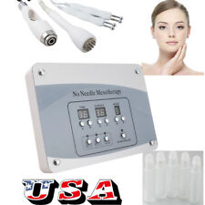 Home Needless Mesotherapy Facial Microcurrent Face Lift Photon Whitening Machine