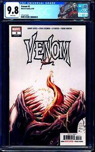 Venom #3 CGC 9.8 1st KNULL CUSTOM LABEL Donny Cates Ryan Stegman KEY ISSUE NM/MT