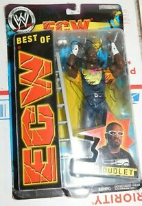 2005 WWE JAKKS BEST OF ECW D-VON DUDLEY FIGURE Signed Autographed TNA