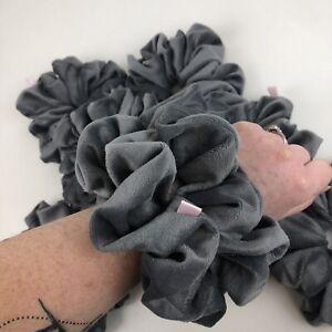 XL Extra Large Oversized Hair Scrunchie Handmade Velvet Velour Made In Uk
