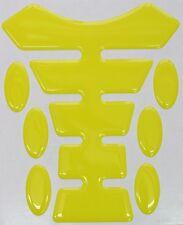 Amarillo 3d Resina semicirculares De Resina Tanque Pad K1 Clásico Diseño + 6 Oval Pad Protectores
