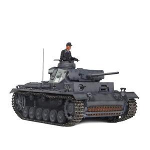 HOOBEN German 1/10 Panzer III J Tank Pz.Kpfw Ausf J-1 RTR Panzerkampfwagen III
