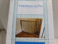 "Cardinal Gates 10.5"" Wrought Iron Child Pet Gate Extension WIX Bronze"