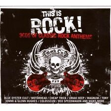 This Is Rock [Box] by Various Artists (CD, Sep-2008, 3 Discs, Union Square Music)