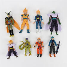 Dragon ball Goku Piccolo Vegeta Trunks 8x Dragonball Z Action Figure Hot Toy Set