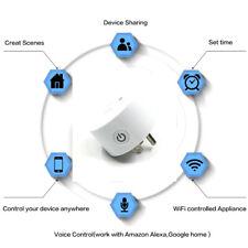 US Smart Plug socket wifi timing plug voice control socket for Alexa Google Home