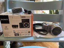 Sony Alpha a5000 20.1MP Digital Camera kit w/16-50mm lens- Silver
